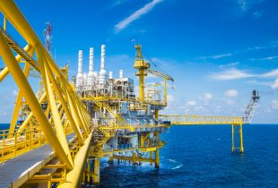Oil and Gas processing platform,producing gas condensate and water and sent to onshore refinery.